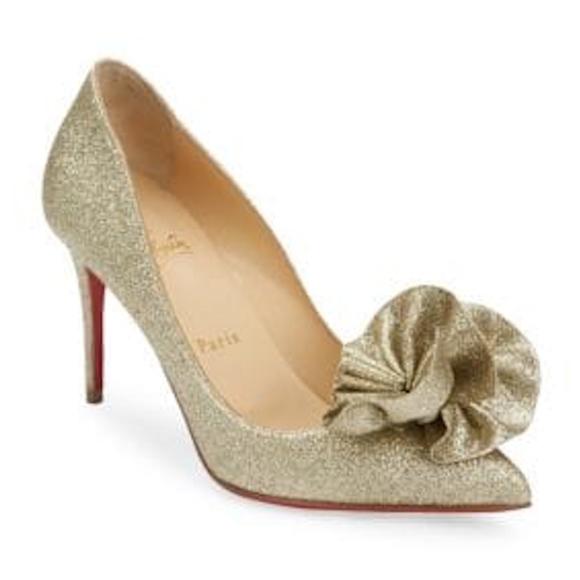 d9bd16b72cd40 Christian Louboutin Shoes   Anemosea Pointy Toe Pump   Poshmark